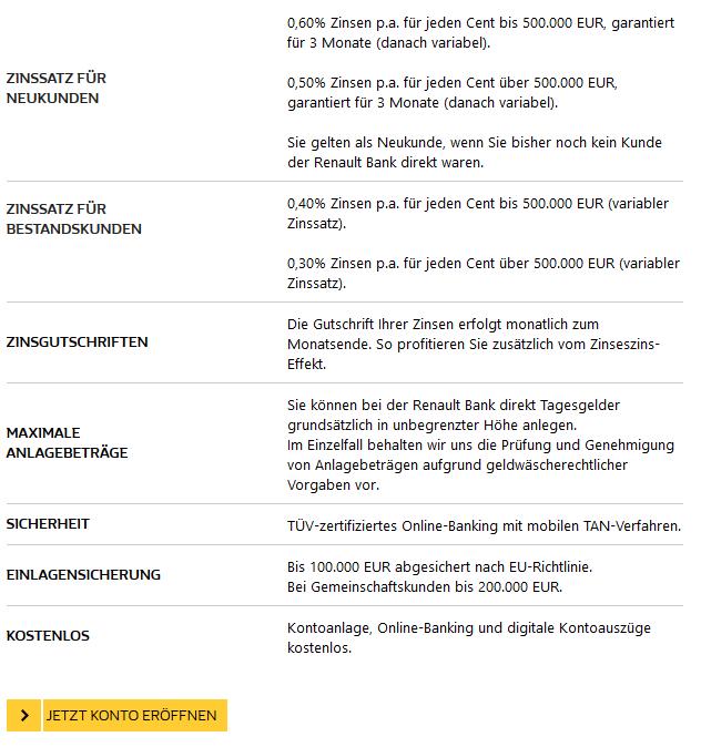 Girokonto Comdirect Dkb Und Norisbank Im Vergleich: Renault Bank 1